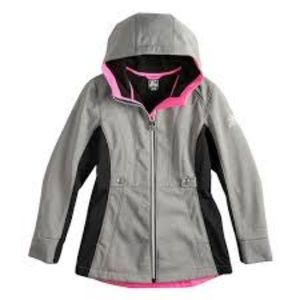 ZeroXposur Girl's Jasmine Fleece Lined Raincoat
